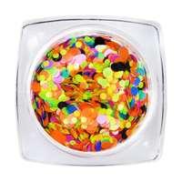 Round Glimmer Mix 8