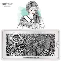 Plaque Stamping Doodles 04 - MoYou London