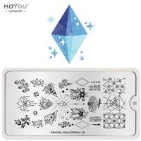 Plaque Stamping Crystal 01 - MoYou London