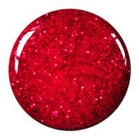 Bonetluxe Glittergel Fire Red Star