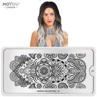 Plaque Stamping Henna 01 - MoYou London