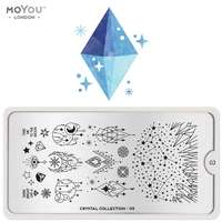 Plaque Stamping Crystal 03 - MoYou London
