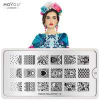 Plaque Stamping Mexico 01 - MoYou London