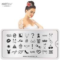 Plaque Stamping Bridal 02 - MoYou London