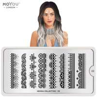 Plaque Stamping Henna 03 - MoYou London