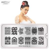 Plaque Stamping Bridal 07 - MoYou London