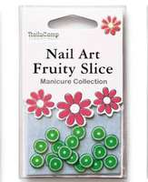 Nailart Fruits (Lime) en sachet - 24 pièces