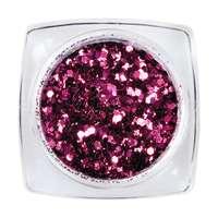 Hexagon Glimmer Mix 8 - Violet