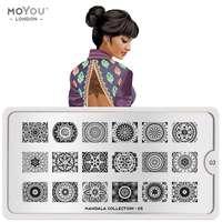 Plaque Stamping Mandala 03 - MoYou London