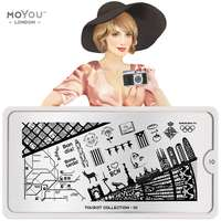 Plaque Stamping Tourist 10 - MoYou London