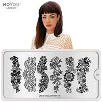 Plaque Stamping Lace 01 - MoYou London