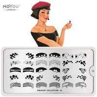 Plaque Stamping Frenchy 10 - MoYou London