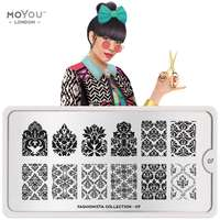 Plaque Stamping Fashionista 07 - MoYou London