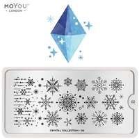 Plaque Stamping Crystal 02 - MoYou London