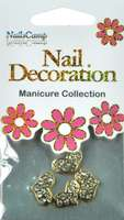 Nail Decoration Inlay Coeur clear