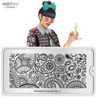 Plaque Stamping Fashionista 11 - MoYou London