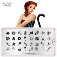 Plaque Stamping Kitty 02 - MoYou London