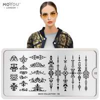 Plaque Stamping Deco 02 - MoYou London