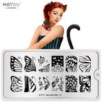 Plaque Stamping Kitty 13 - MoYou London