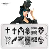 Plaque Stamping Gothic 03 - MoYou London