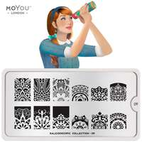 Plaque Stamping Kaleidoscope 09 - MoYou London