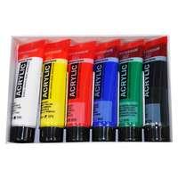 Kit couleurs acryliques 6 x 20 ml