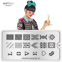 Plaque Stamping Fashionista 03 - MoYou London
