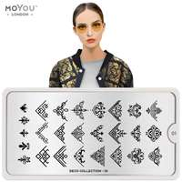 Plaque Stamping Deco 01 - MoYou London