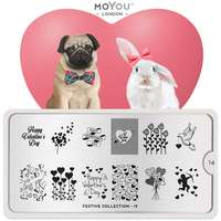 Plaque Stamping Festive 19 - MoYou London