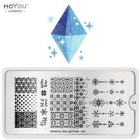 Plaque Stamping Crystal 04 - MoYou London