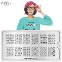 Plaque Stamping Geek 10 - MoYou London