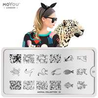 Plaque Stamping Animal 01 - MoYou London