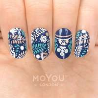 Plaque Stamping Porcelain 05 - MoYou London