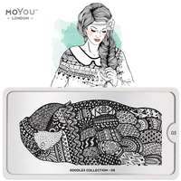 Plaque Stamping Doodles 05 - MoYou London