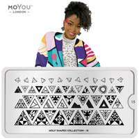 Plaque Stamping Holy Shapes 15 - MoYou London