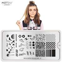 Plaque Stamping Mix and Match 13 - MoYou London