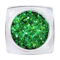 Hexagon Glimmer Mix 3 - Green