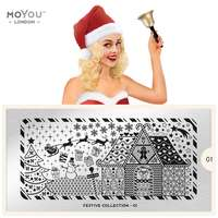 Plaque Stamping Festive 01 - MoYou London