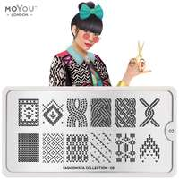 Plaque Stamping Fashionista 02 - MoYou London
