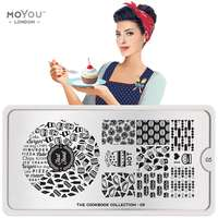 Plaque Stamping Cookbook 05 - MoYou London