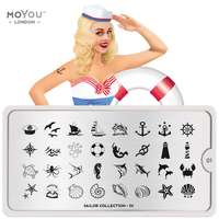 Plaque Stamping Sailor 01 - MoYou London