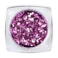 Hexagon Glimmer Mix 10 Lila