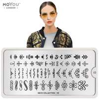 Plaque Stamping Deco 03 - MoYou London