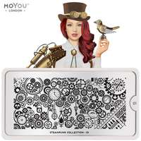Plaque Stamping Steampunk 01 - MoYou London