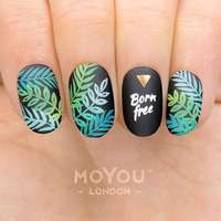 Plaque Stamping Tropical 36 - MoYou London