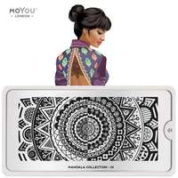 Plaque Stamping Mandala 01 - MoYou London