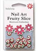 Nailart Fruits (Apple) en sachet - 24 pièces