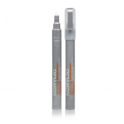 Acrylic Color Liner Metallic Silver