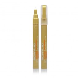Acrylic Color Liner Metallic Gold