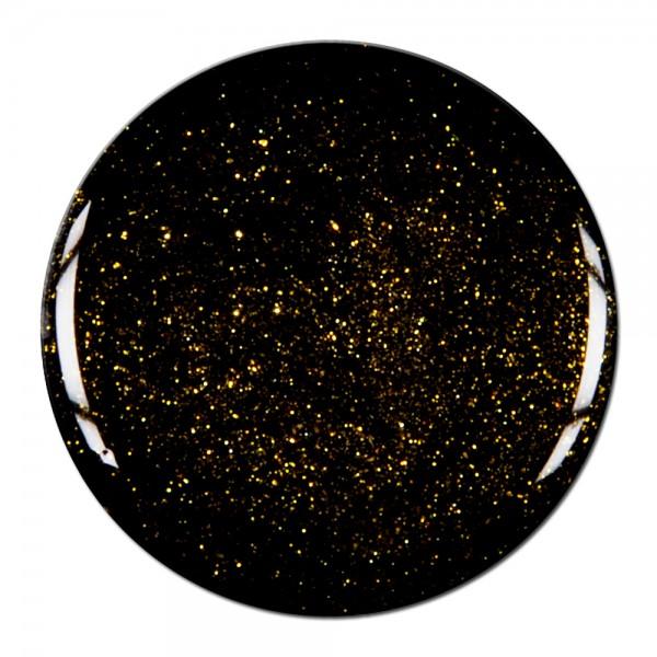 gel de couleur noir avec paillettes or. Black Bedroom Furniture Sets. Home Design Ideas